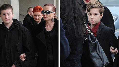 Marcela Karleszová se syny Oskarem a Oliverem