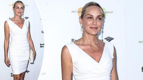 Sharon Stone stále patří k nejpohlednějším herečkám.
