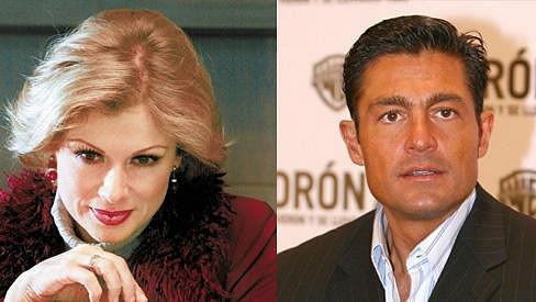 Leticia Calderón a Fernando Colunga dnes.
