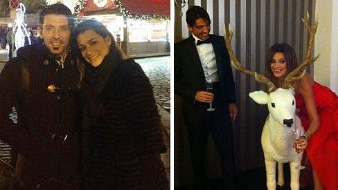 Alena Šeredová s manželem Gigi Buffonem.