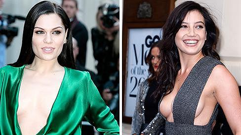Jessie J a Daisy Lowe kralovaly svými výstřihy.