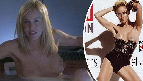 Sharon Stone ostychem nikdy netrpěla.