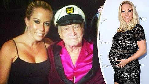 Kendra měla v minulosti blízko k zakladateli Playboye.