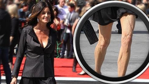 Janice Dickinson by si příště měla rozmyslet, zda si oblékne minisukni.