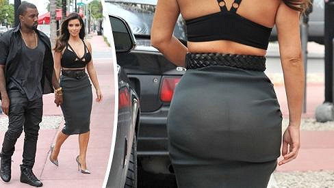 Kim Kardashian a její zvláštní model.