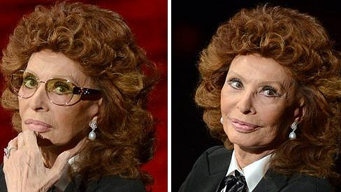 Sophia Loren po 80. narozeninách