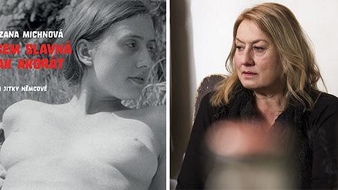 Zuzana Michnová na archivní fotce a dnes