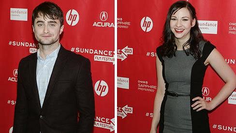 Nový herecký pár Daniel Radcliffe a Erin Darke.
