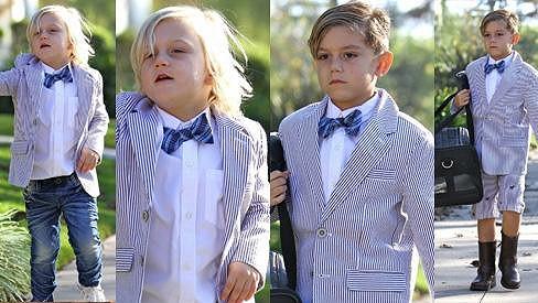 Synkové Gwen Stefani jsou malí fešáci.