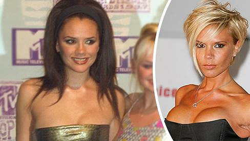Victoria Beckham ve Spice Girls a v roce 2007