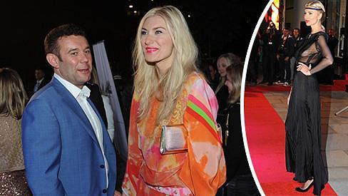 Aneta Faitová a její vlivný snoubenec.
