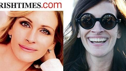 Julia Roberts v reklamě společnosti Lancôme vypadá opravdu zcela jinak, než ve skutečnosti.
