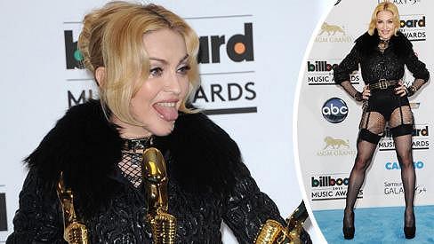 Madonna ráda předvádí své tělo.