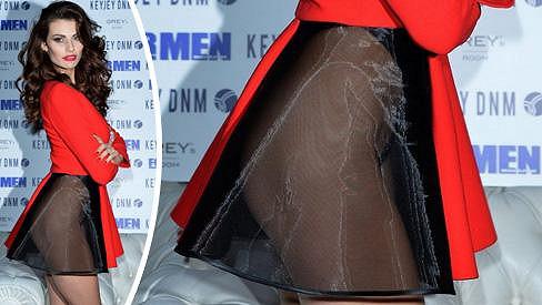 Dayane Mello nechala pány nahlédnout pod sukni.