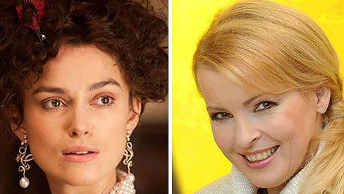 Annu Kareninu v oscarovém snímku ztvárnila Keira Knightley.