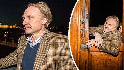 Během návštěvy Prahy prozradil slavný spisovatel svou slabinu.