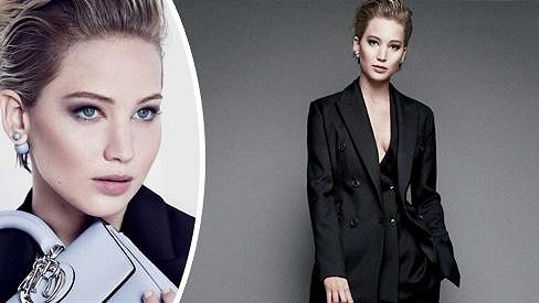 Jennifer Lawrence jako modelka