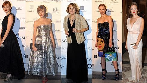 Tyhle dámy měly při výběru šatů šťastnou ruku.