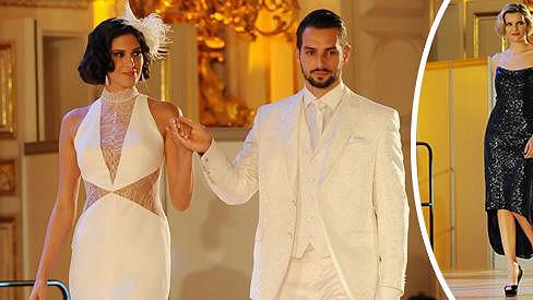 Vignerová sice nemá ženicha, ve svatebních šatech jí to ale sekne.
