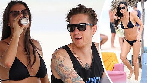 Demi Moore vstoupila do tohoto roku s novým mladíčkem po boku.