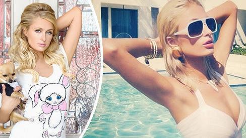 Paris Hilton popřála fanouškům příjemné Velikonoce několika svými fotografiemi.