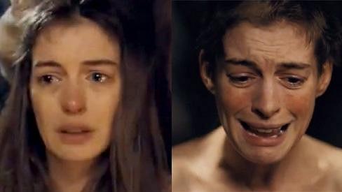 Anne Hathaway v Bídnících.