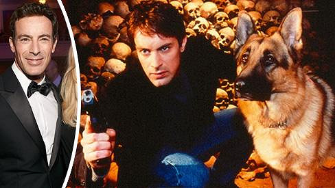 Gedeon Burkhard se v seriálu Komisař Rex objevil před 15 lety.