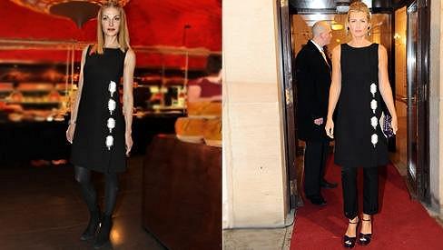 Pavlína a Daniela si oblékly stejné šaty.