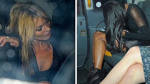 Kamarádky Naomi a Kate spolu popily...