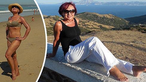 Konec prázdnin strávila Petra v Andaluzii.