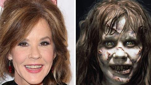 Linda Blair se proslavila hororem Vymítač ďábla.