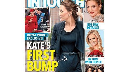Kate Middleton je podle amerického časopisu těhotná.