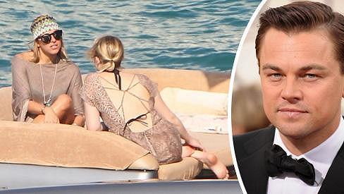 Leo DiCaprio si vybíral z blondýnek.
