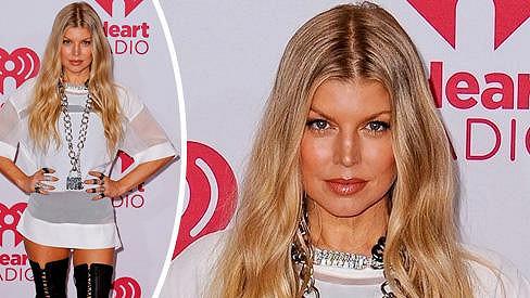 Fergie předvedla svou sexy postavu.