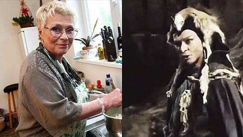 Jana Andresíková dnes a tehdy.