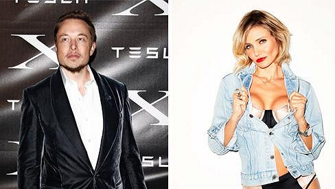 Cameron Diaz a Elon Musk údajně tvoří nový pár.