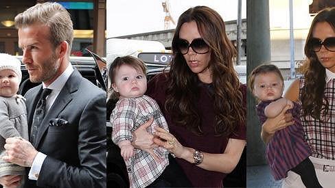 Harper Beckham je nejstylovějším dítětem.