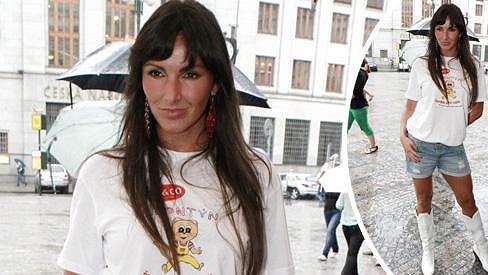 Andrea Vránová vypadá skvěle.