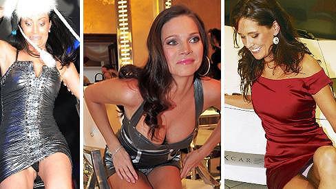 Která celebrita ukázala své kalhotky?