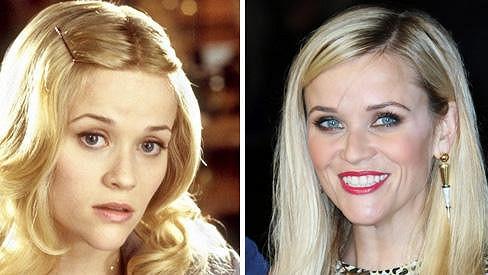 Reese Witherspoon zazářila jako Pravá blondýnka před 13 lety.