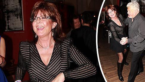Marie Tomsová slavila narozeniny Milana Drobného.
