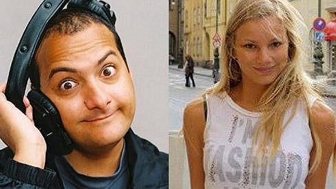 Tuto dívku Patrik označil jako svou přítelkyni.