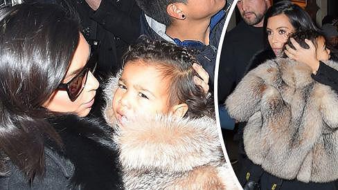 Kim chce dceři dopřát luxus.