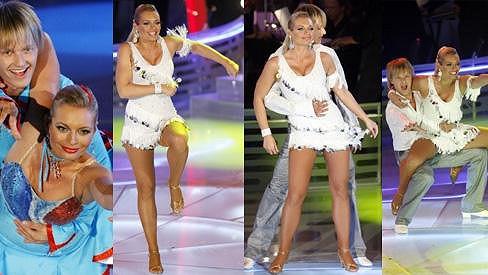 Lucie Borhyová to na tanečním parketu uměla pořádně rozjet.