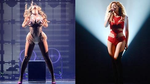 Beyoncé tvrdě pracovala na své postavě, díky tomu má dole třicet kilogramů.