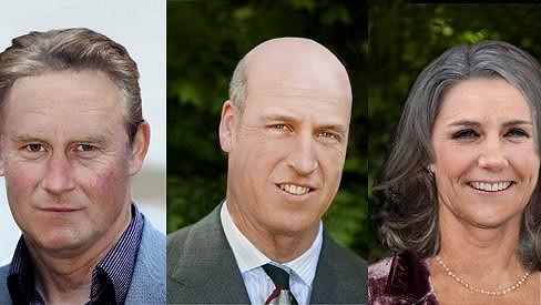 Mohou princové Harry s Williamem a vévodkyně Kate vypadat za 30 let podobně?