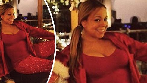 Mariah Carey září štěstím.