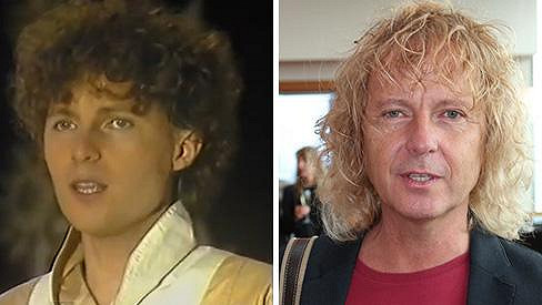 Peter Nagy v roce 1984 a dnes
