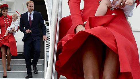 Kate se vypořádala s větrem i synem v náručí na jedničku.
