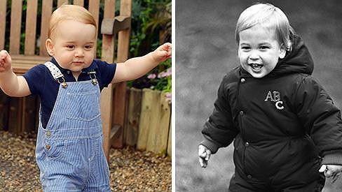 Kate Catherine Kate Catherine - Princ George zítra slaví jeden rok.  Tatínkovi jako by z oka vypadl! - Super.cz b937cad60a